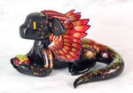 Feathered Fire Dragon