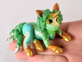 Jade and Gold Unicorn
