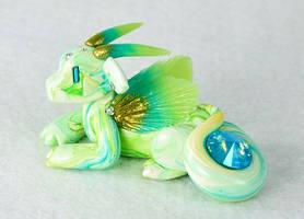 Green Marbled Gem Dragon