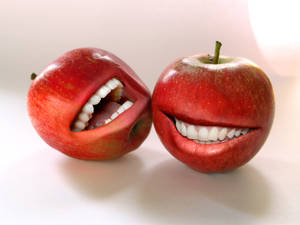 Grinning Apples