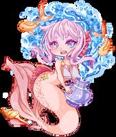 Chibi fishie by YuyuVanilleshake