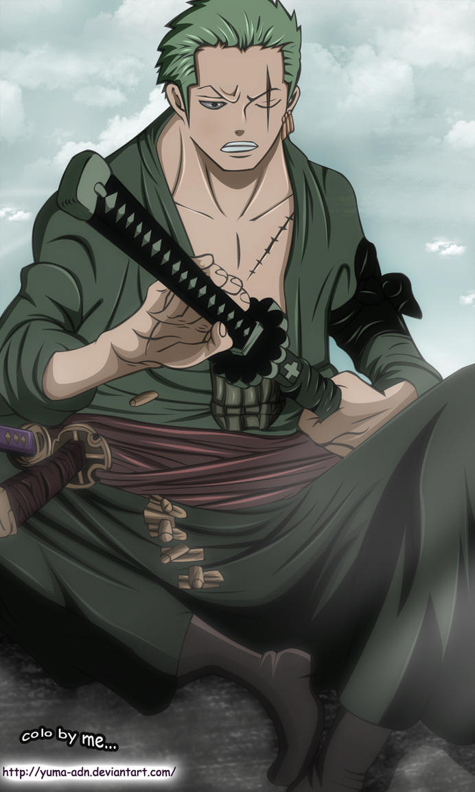 one piece 599 zoro new style by yuma adn on deviantart. Black Bedroom Furniture Sets. Home Design Ideas
