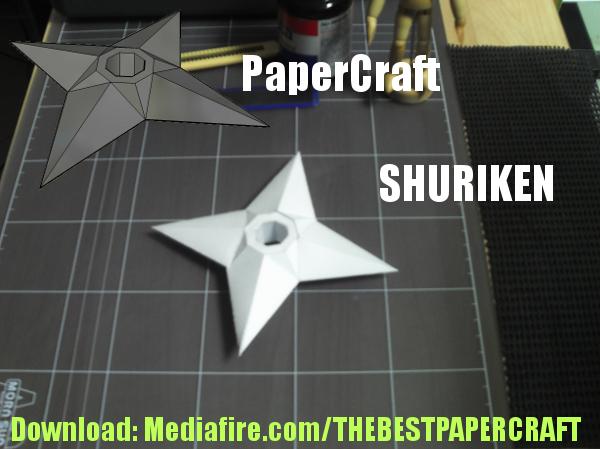Papercraft Shuriken by bakaneko-kun
