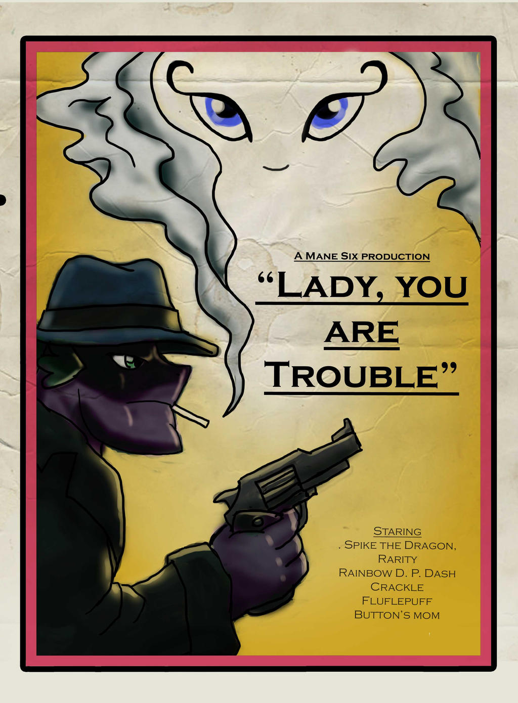 Lady, You are Trouble by Sensko