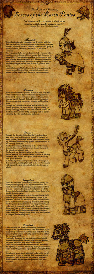 Equestria at War: Forces of the Earth Ponies