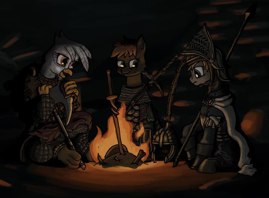 By the Fireside by Sensko