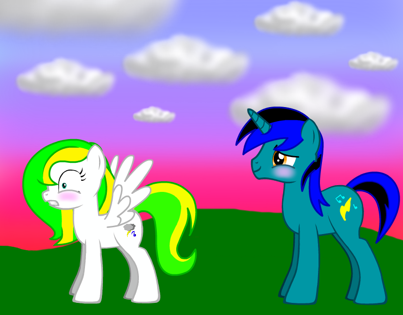 Electro Note and Thunderbeat by AppleInuFreak2000