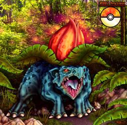 Ivysaur - colourized version by Nocturnalimagination