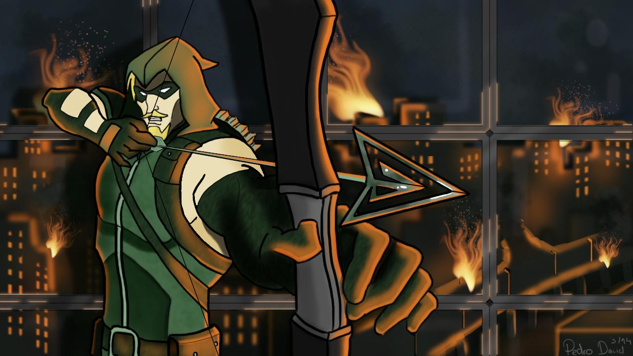 Green Arrow On InjusticeGodsAmongUs