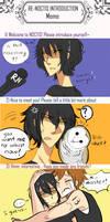 R N  Introduction Meme: Kurosawa-chan by oneeyedcannibal