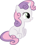 Sweetie Belle Sitting Around