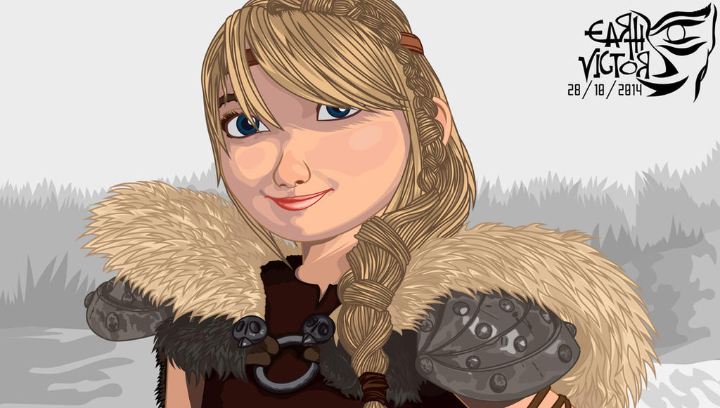 Astrid How To Train Your Dragon 2 By Earthvictor On Deviantart