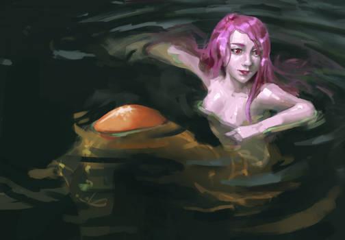 Chillin' Mermaid