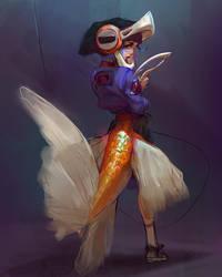 The Goldfish by Rhasdra