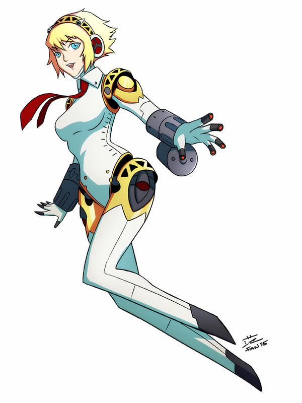 Persona Utimax - Aigis by kawoXD