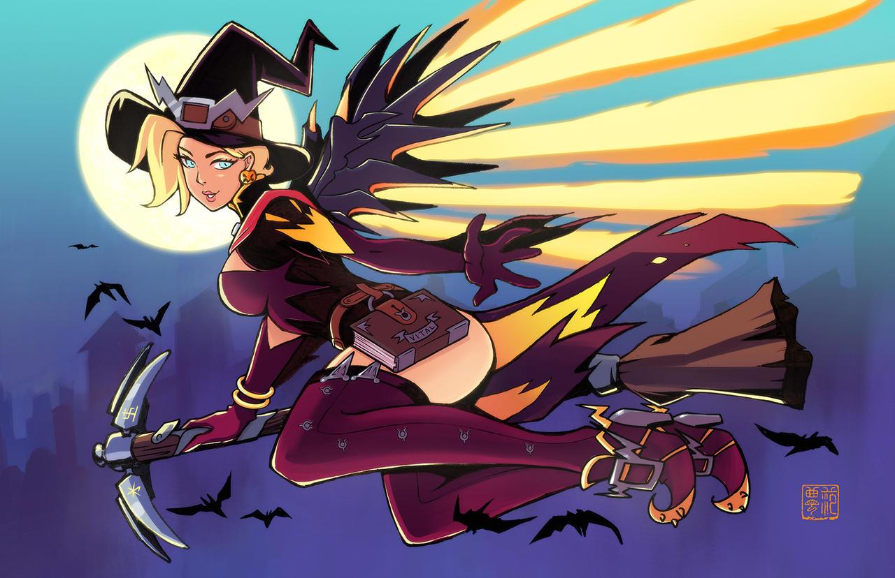 Witch Mercy by kawoninja