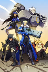 Overwatch - Original Strike Team