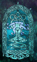Yoga Knot Goddess by BeauW