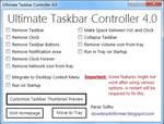 Ultimate Taskbar Controller 4.0