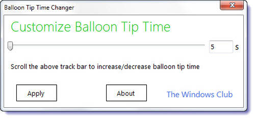 Balloon Tip Time Changer by parassidhu