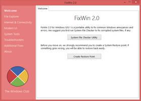 FixWin 2.0 by parassidhu