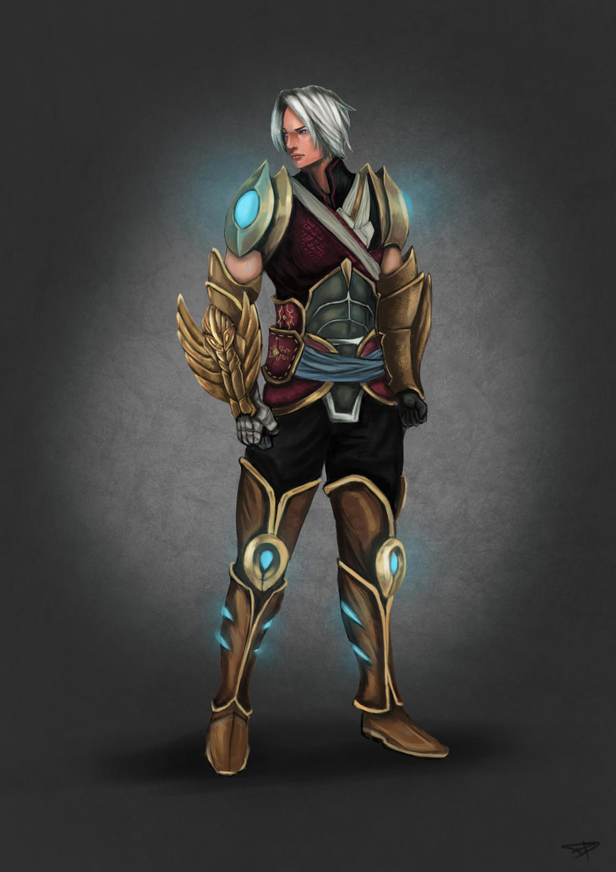 chinese warrior by dteo on deviantart