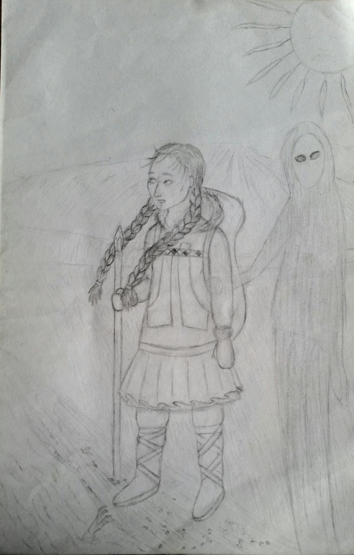 Alekatokak Begins her Journey by blackparademajorette