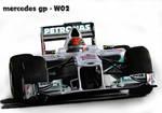 F1 Mercedes GP - W02 2.0