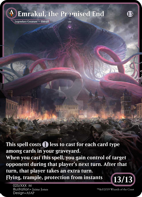 Emrakul, the Promised End by ASAPproxies on DeviantArt