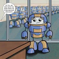 Robot Life 12: Job Interview