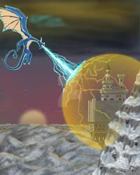 Dragon Attack on the Magic Castle