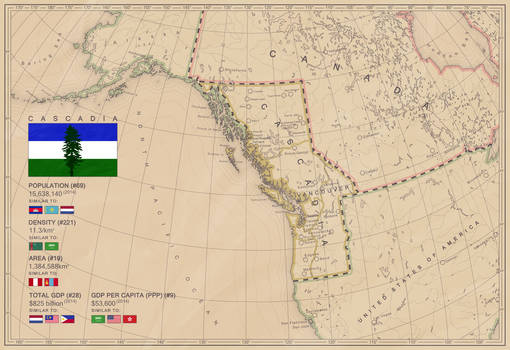 #CASCADIEXIT If Cascadia gets their independence