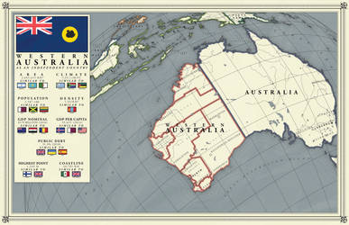 Western Australia as an independent country