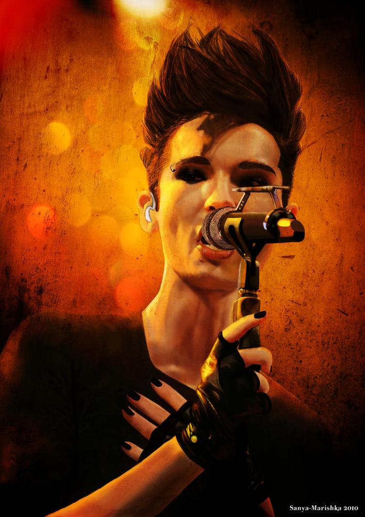 Bill Kaulitz by Sanya-Marishka