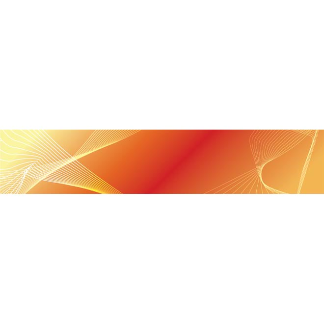 Abstract White Line Pattern On Orange Glossy Bg By Cgvector