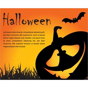 Free Vector Happy Halloween Funny Poster Design By Cgvector ...