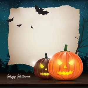 blank halloween flyer templates