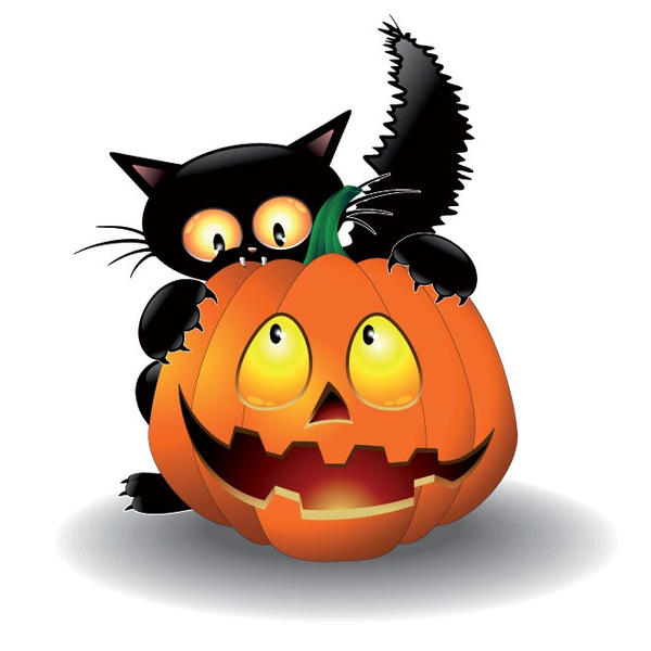scary cat clipart free - photo #39