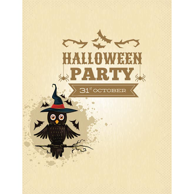 free vector happy halloween 31st october poster by cgvector - Why Is Halloween On The 31st Of October