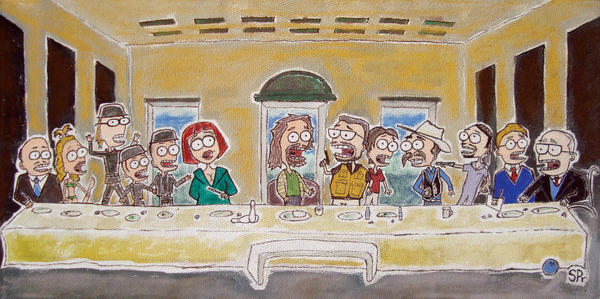 dudes last supper by dsnysque
