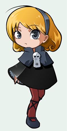 Grim Tales - Minnie Mandy by tenzeru-chan
