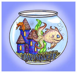 Gravewalker fishbowl badge by caishide