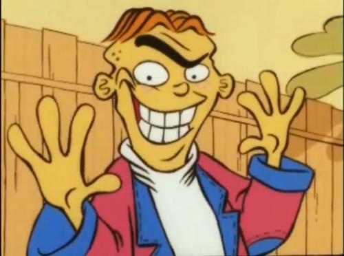 Ed's Creepy Smile by wolfthepredator