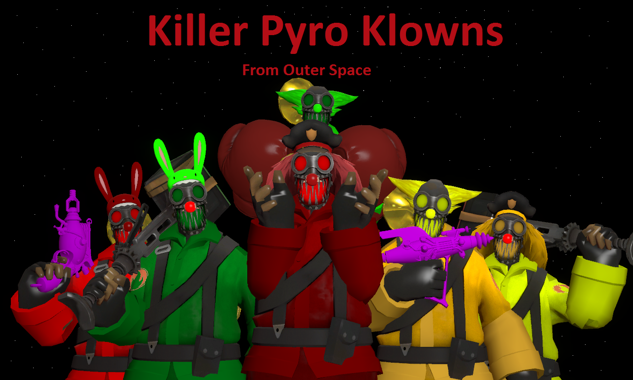 Killer pyro klowns from outer space by wolf the predator for Killer klowns 2