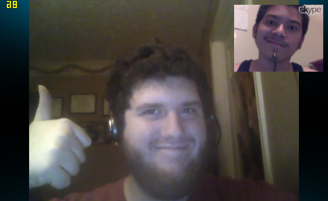 Wolfthepredator meets Erichgrooms on Skype by wolfthepredator