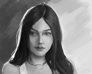 Portrait Study - Nyvi by williamzel
