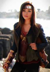 Fanart - Casual Wonder Woman by williamzel