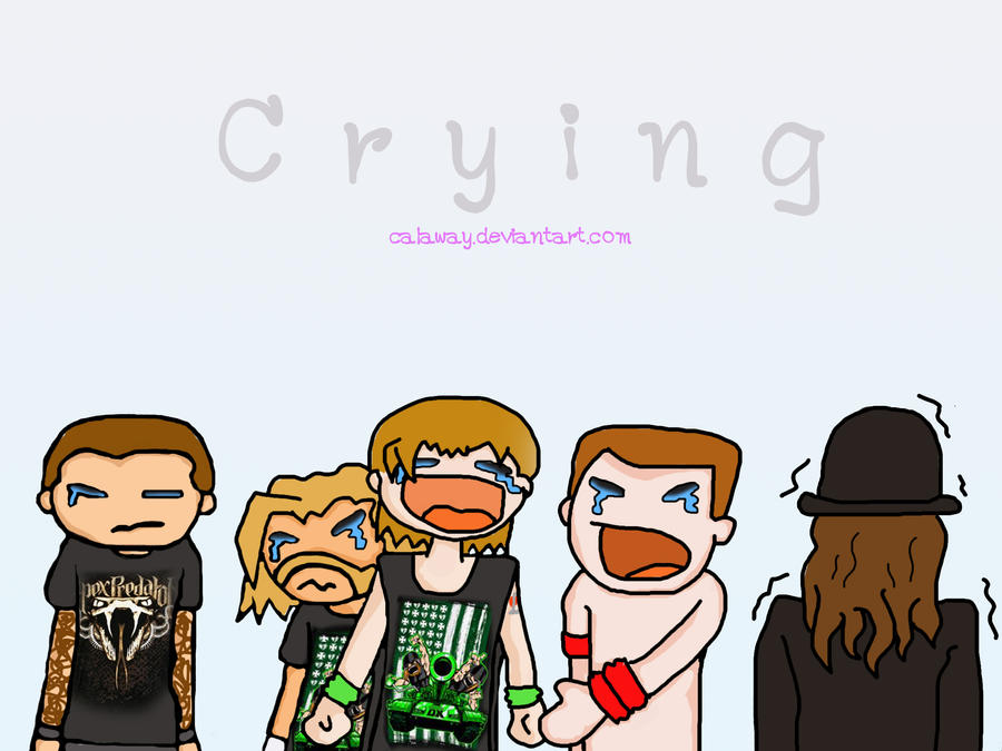 Crying wwe by calaway