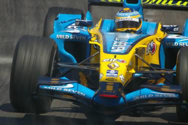 Fernando Alonso by Dali67