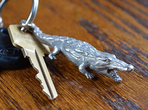 alligator keychain bottle opener metal 3d print by kevinweichel on deviantart. Black Bedroom Furniture Sets. Home Design Ideas